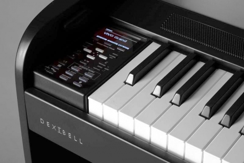 Dexibell VIVO H7 Digital Homepiano Black Matt
